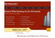 Webhosting24by7 Coupon Codes February 2018