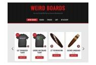 Weirdboards Coupon Codes June 2020