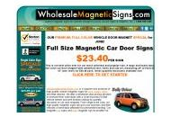 Wholesalemagneticsigns Coupon Codes October 2017