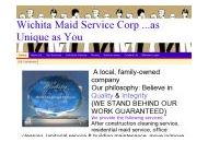 Wichitamaidservice Coupon Codes September 2021