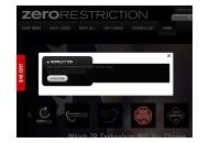 Zerorestriction Coupon Codes May 2018
