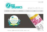 Zoeorganics Coupon Codes November 2020